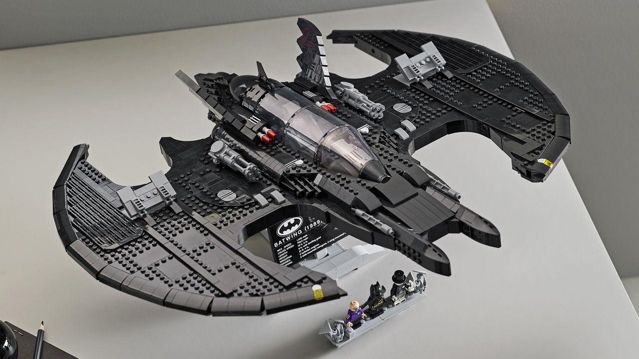 En Batvinge av LEGO
