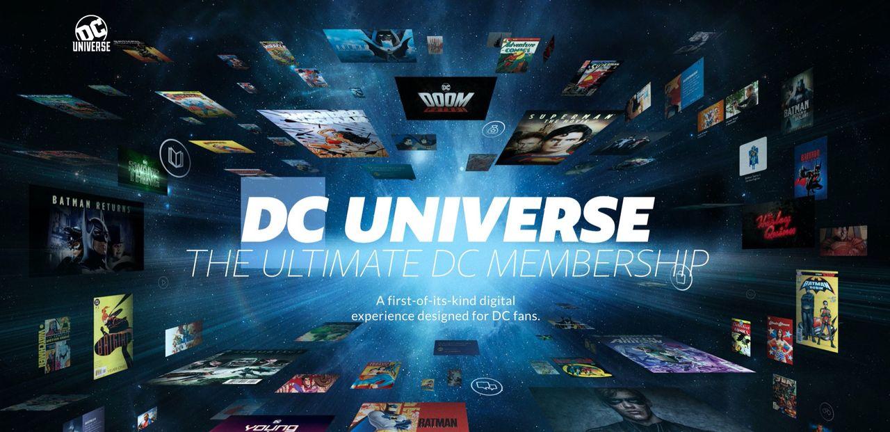 DC Universe slutar streama tv och film