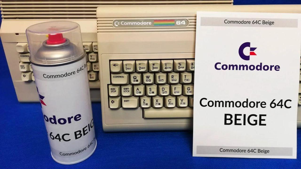 Nu finns Commodore 64-färgen på sprayburk