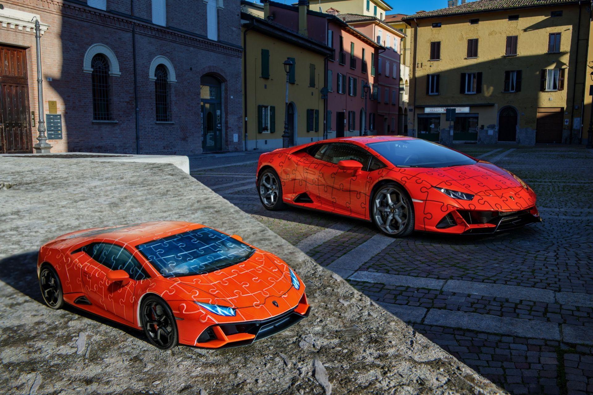 Bygg dig en egen Lamborghini Huracán Evo