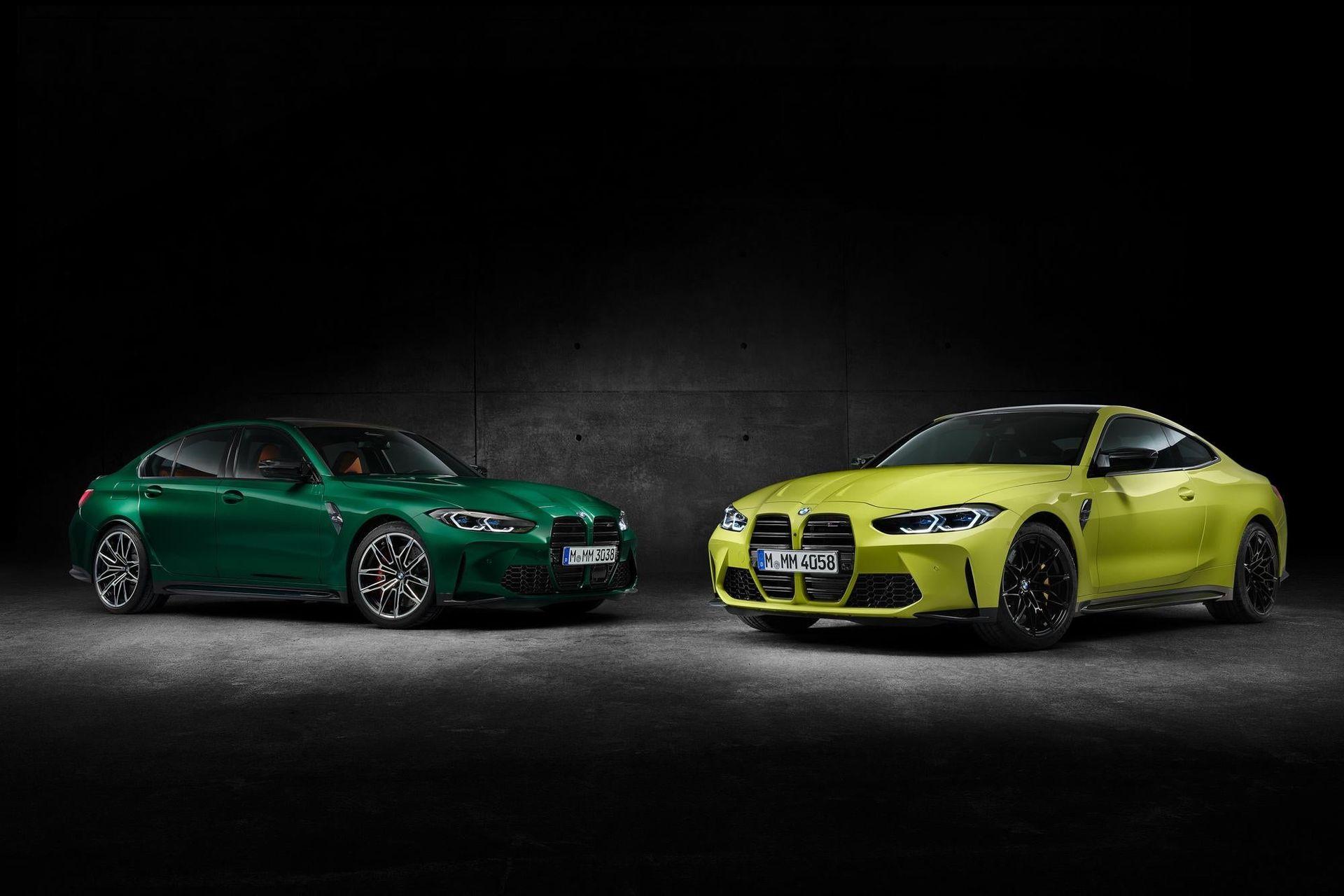 Nya BMW M3 och M4 läcker ut