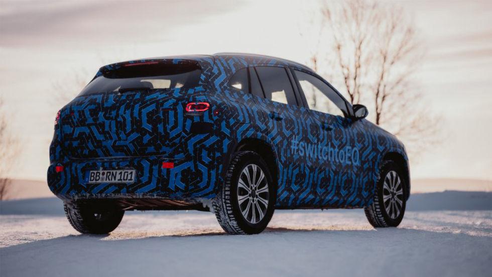 Presentationen av Mercedes EQA skjuts upp till nästa år