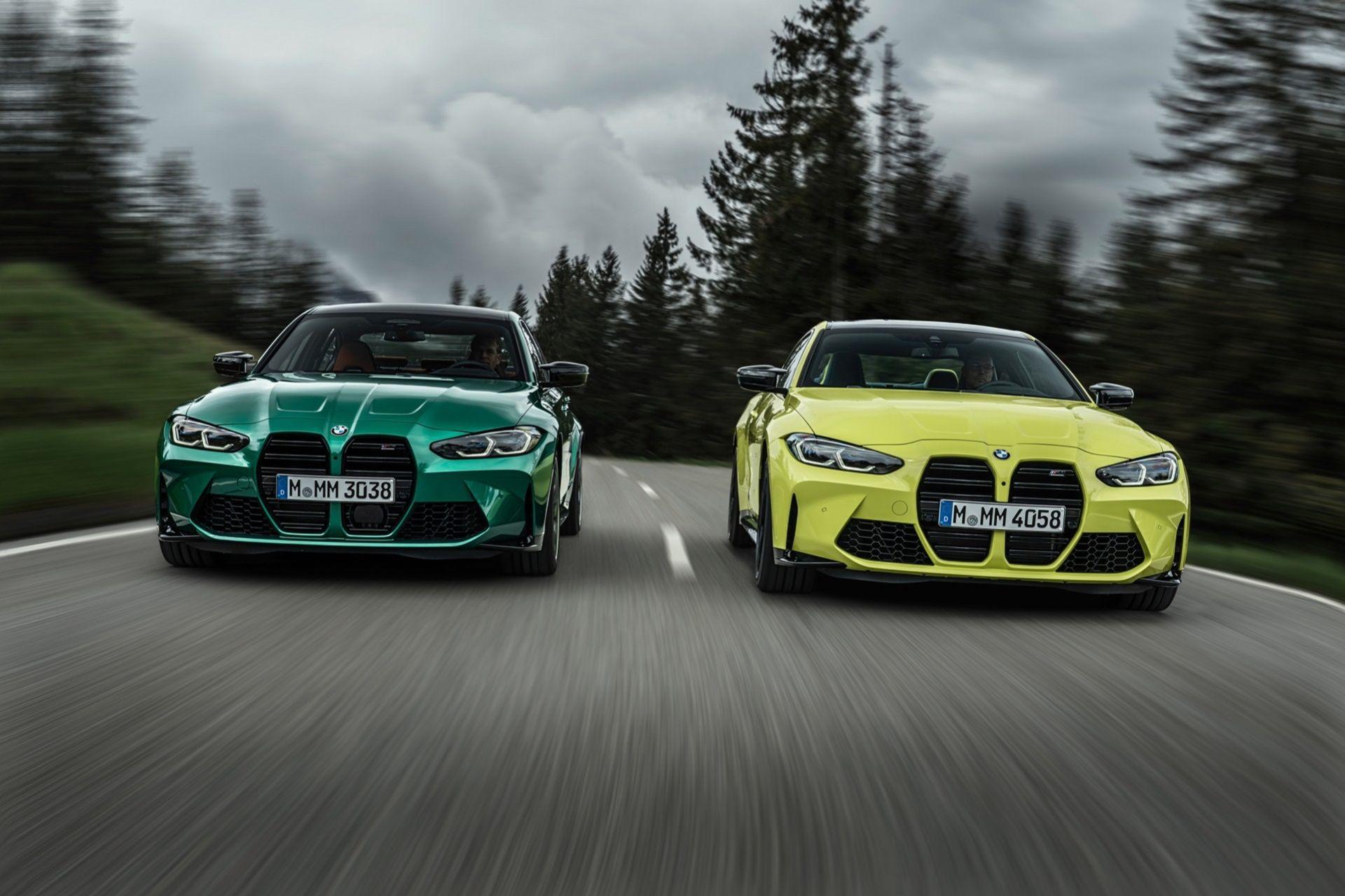 Nu är de här - nya BMW M3 och M4
