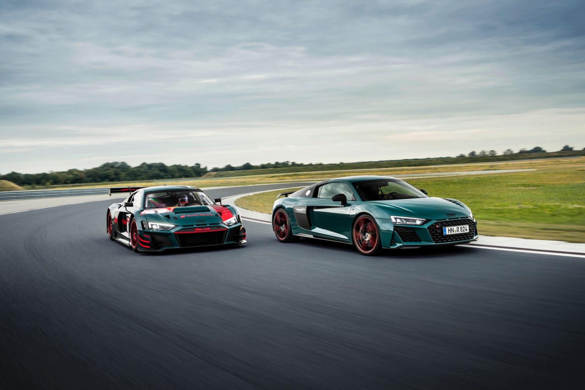 Audi hyllar framgångarna R8 LMS haft på Ringen