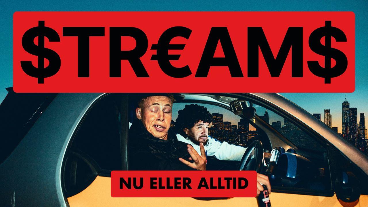 Humorserien Streams drar igång på SVT Play i morgon