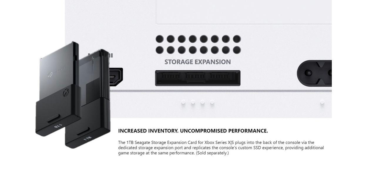 Mer lagring i Xbox Series X | S kostar 220 dollar
