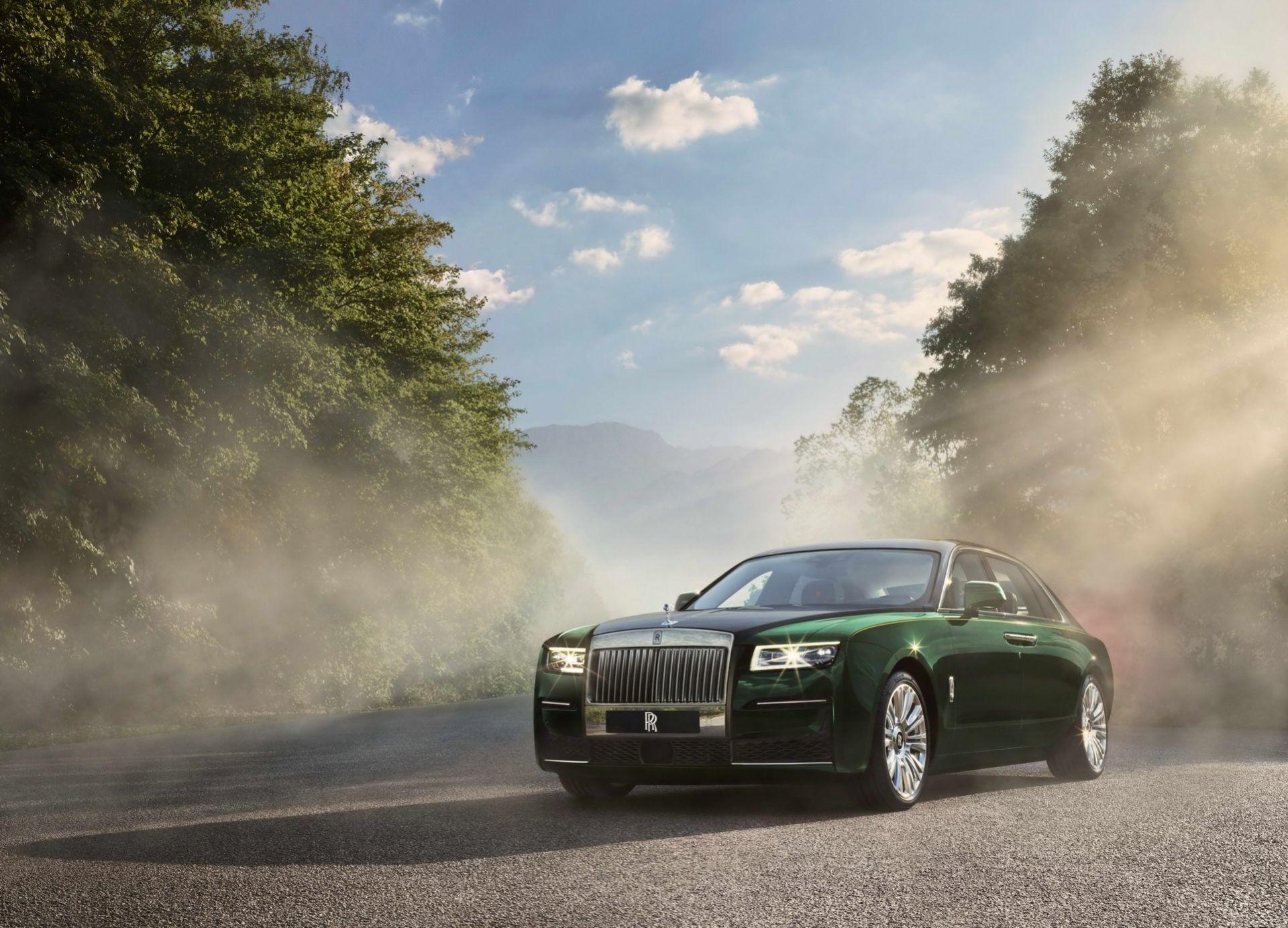 Nya Rolls-Royce Ghost i långt utförande