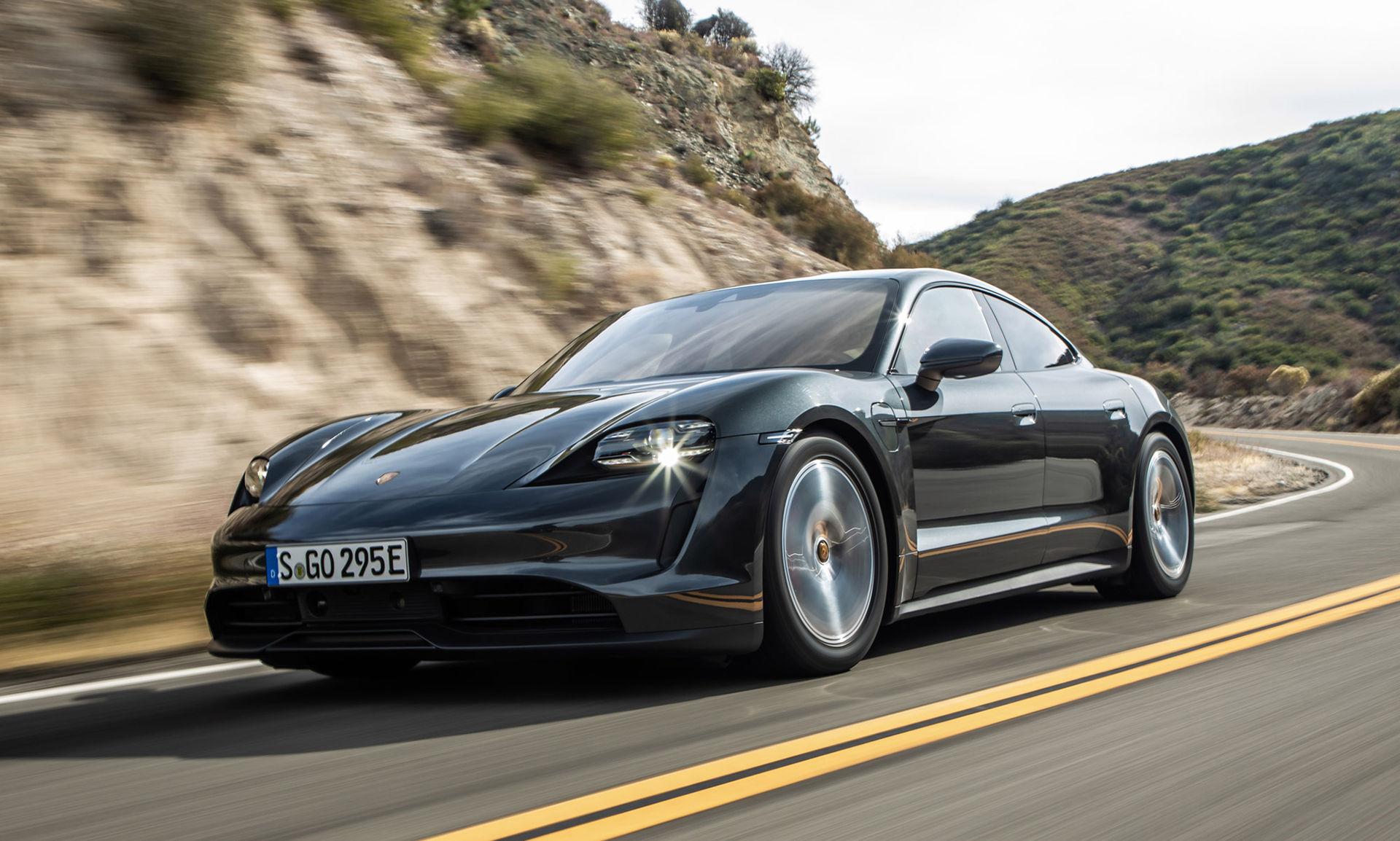 Taycan är nu Porsches bäst säljande bilmodell i Europa
