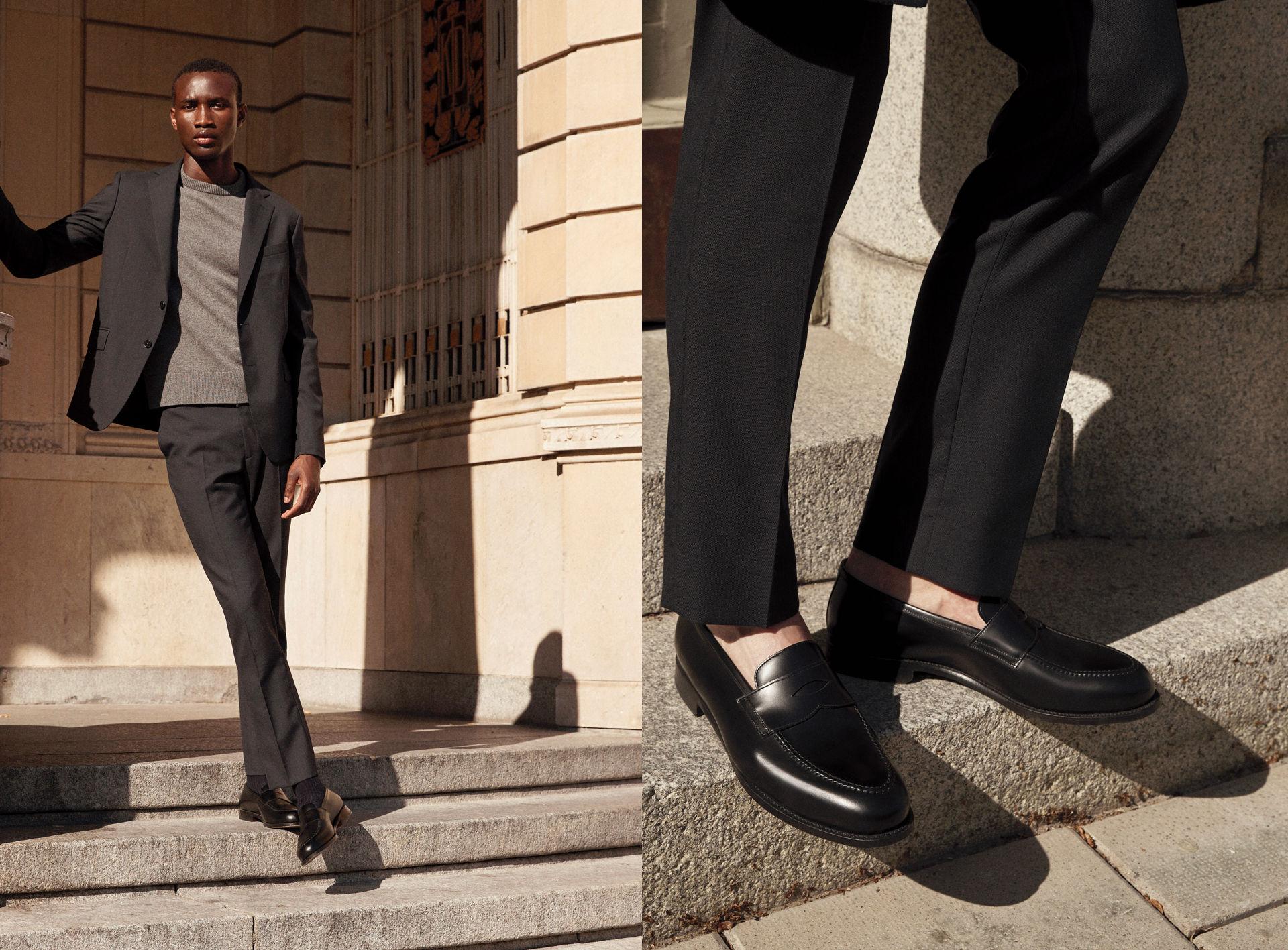 Arket presenterar en klassisk pennyloafer-sko