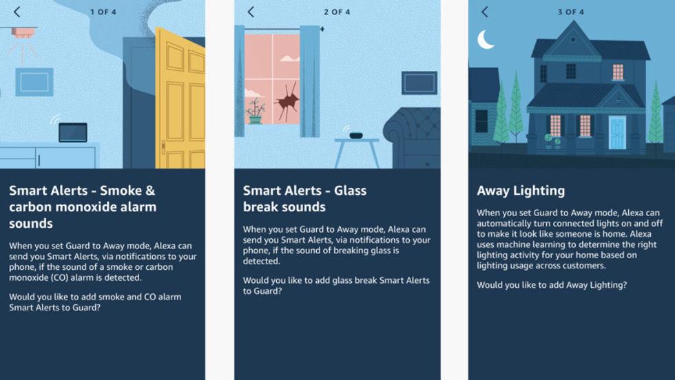 Nu kan Alexa övervaka hemmet
