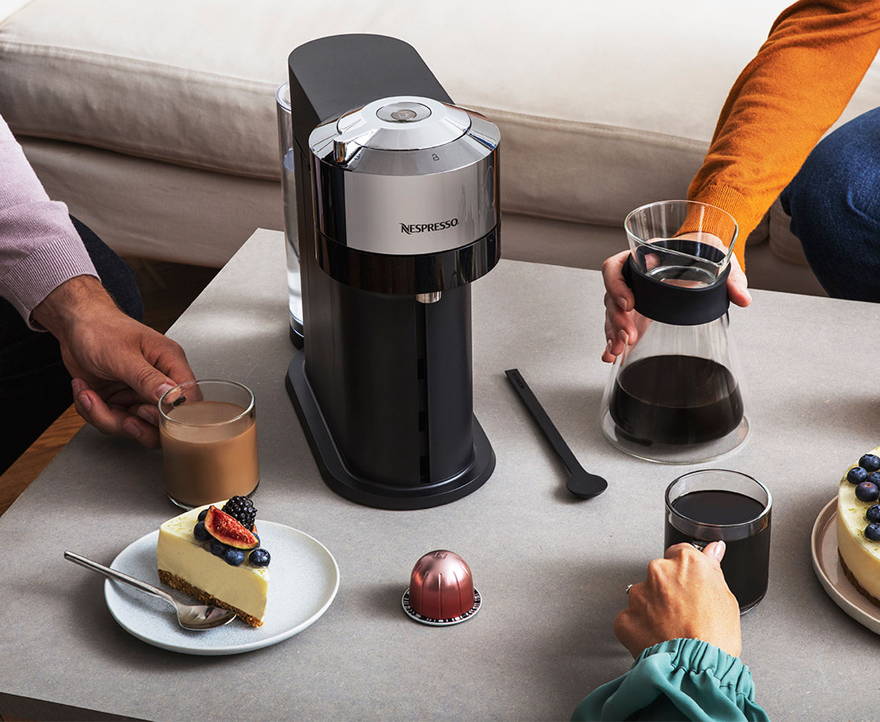 Nu kan du köpa Nespresso-maskinen Vertuo Next