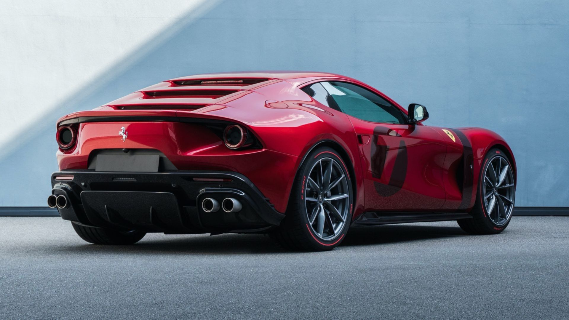 Ferrari Omologata - specialbygge baserat på 812 Superfast