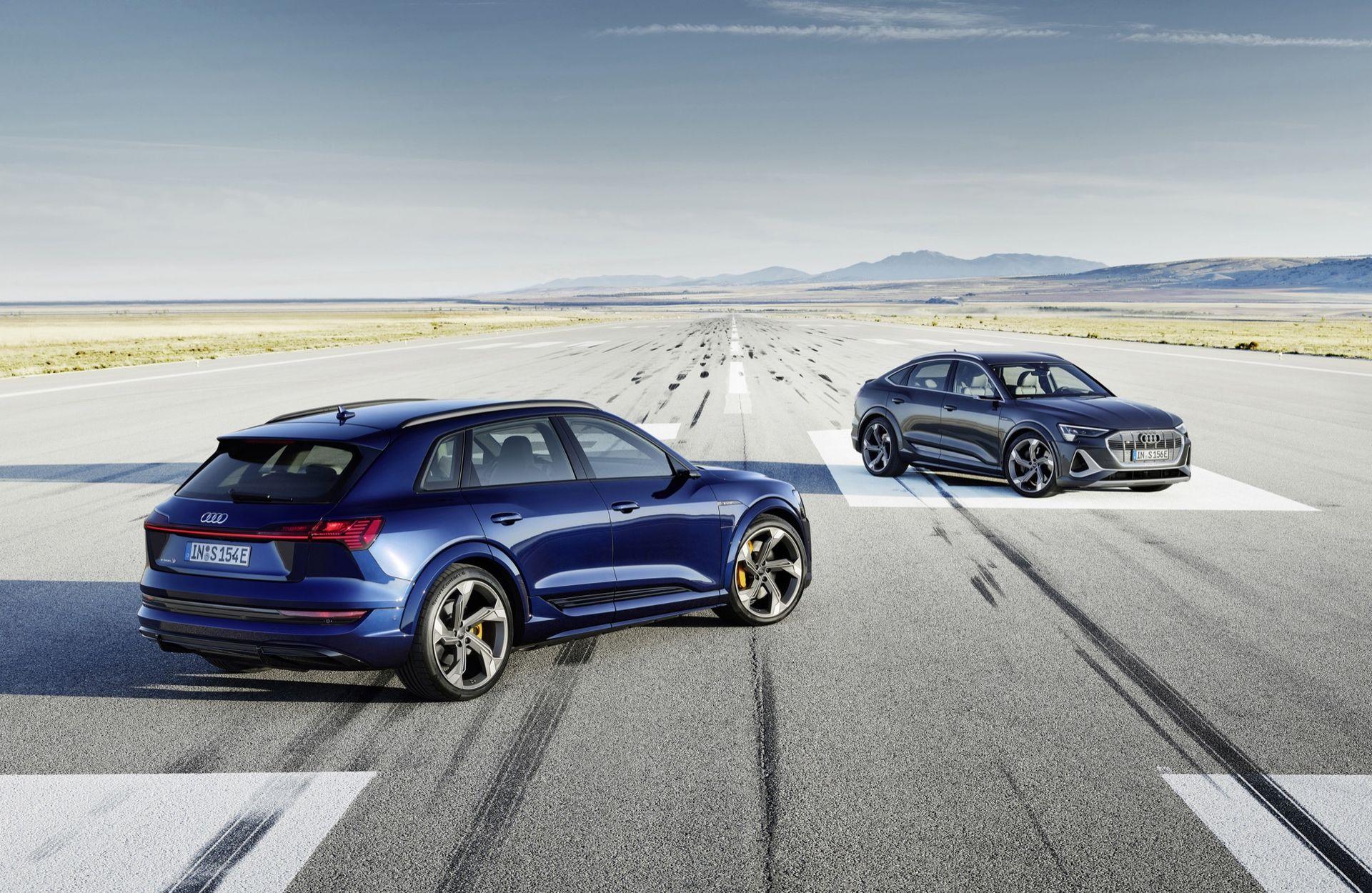 Nu kan du beställa Audi e-tron S och e-tron S Sportback