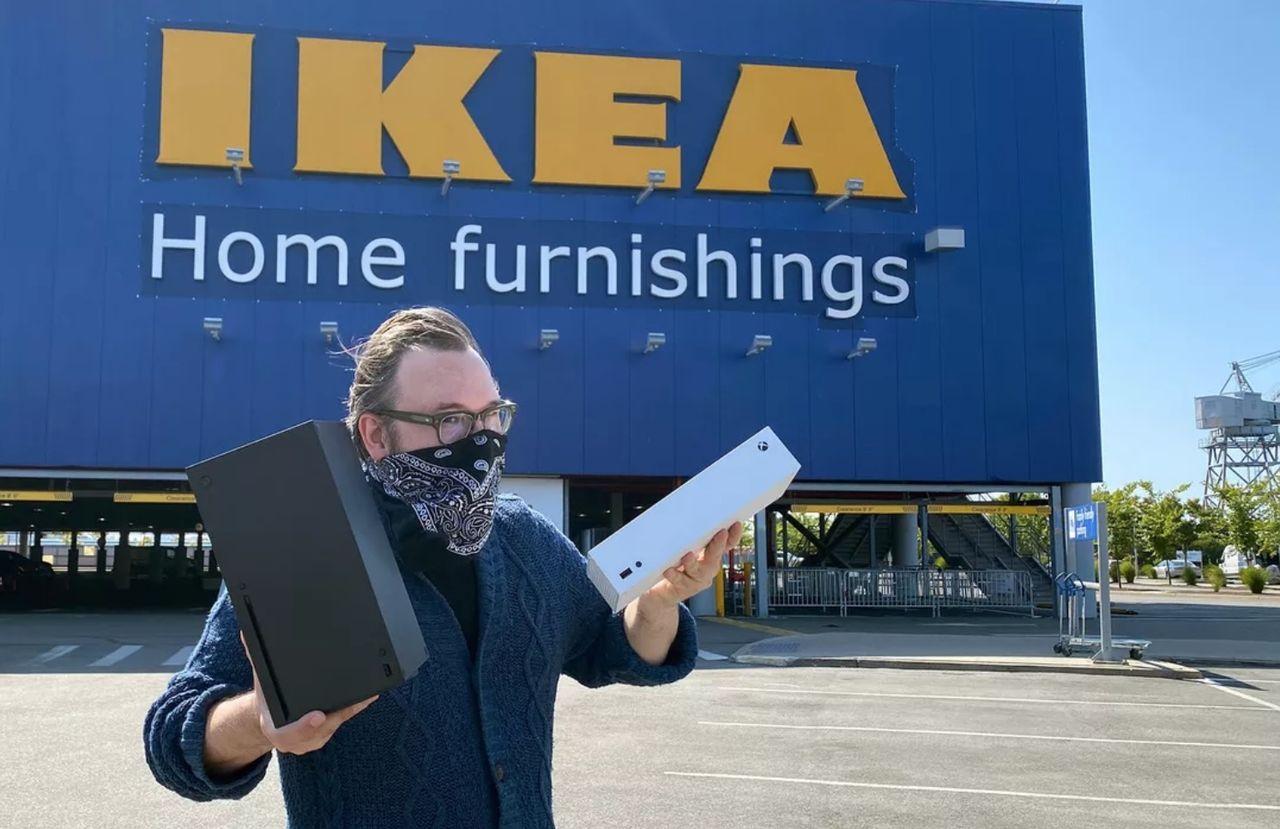 Hur passar Xbox Series S och X i IKEA-möbler?