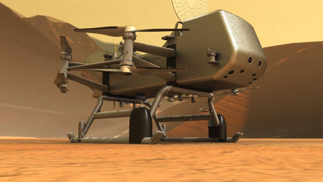 NASA skjuter upp resa till Saturnus måne Titan