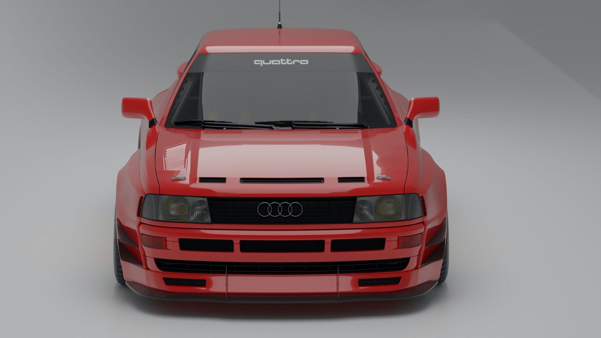 Prior Design erbjuder RS2-kit till Audi Coupé