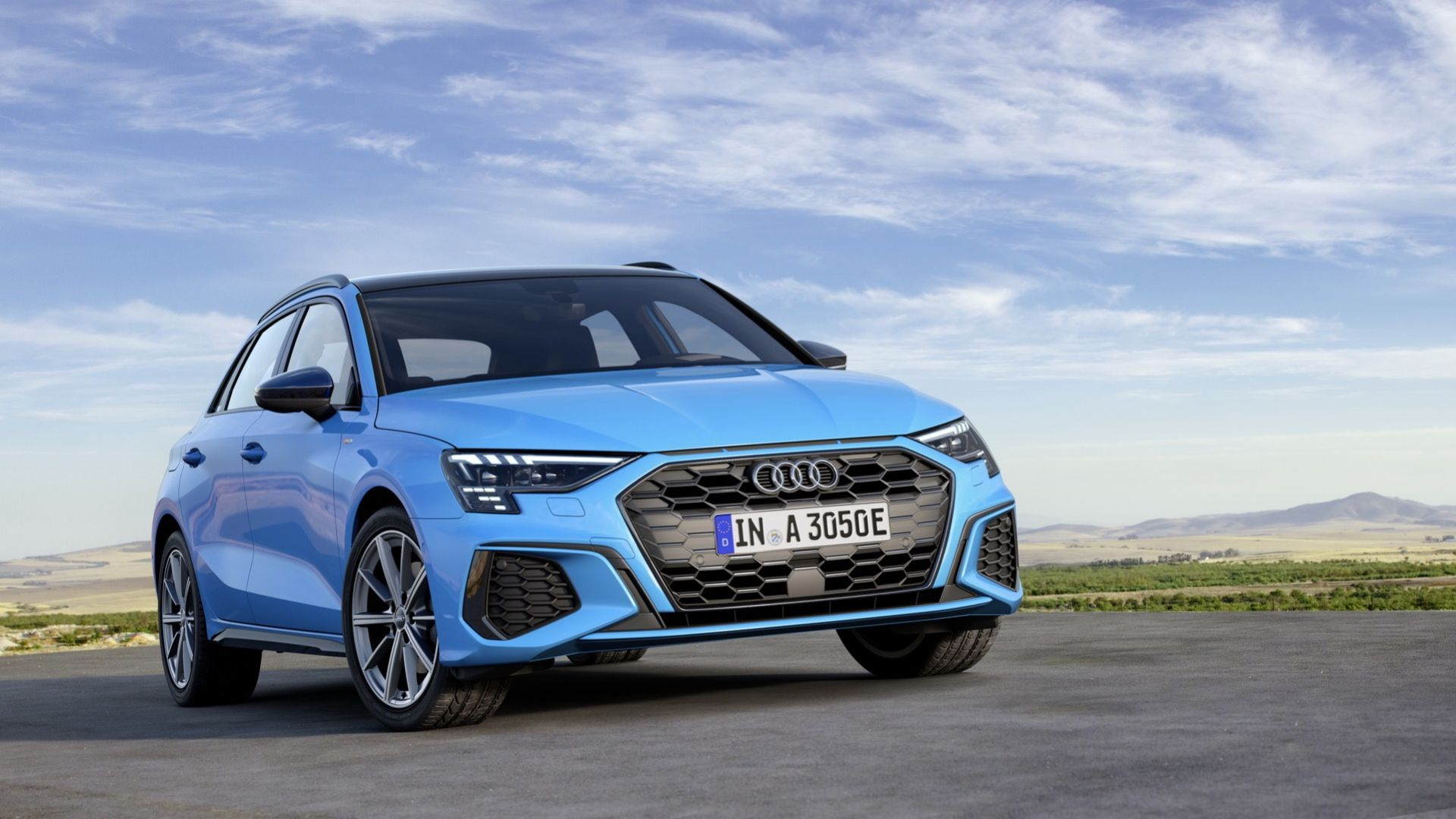 Nya Audi A3 Sportback som laddhybrid