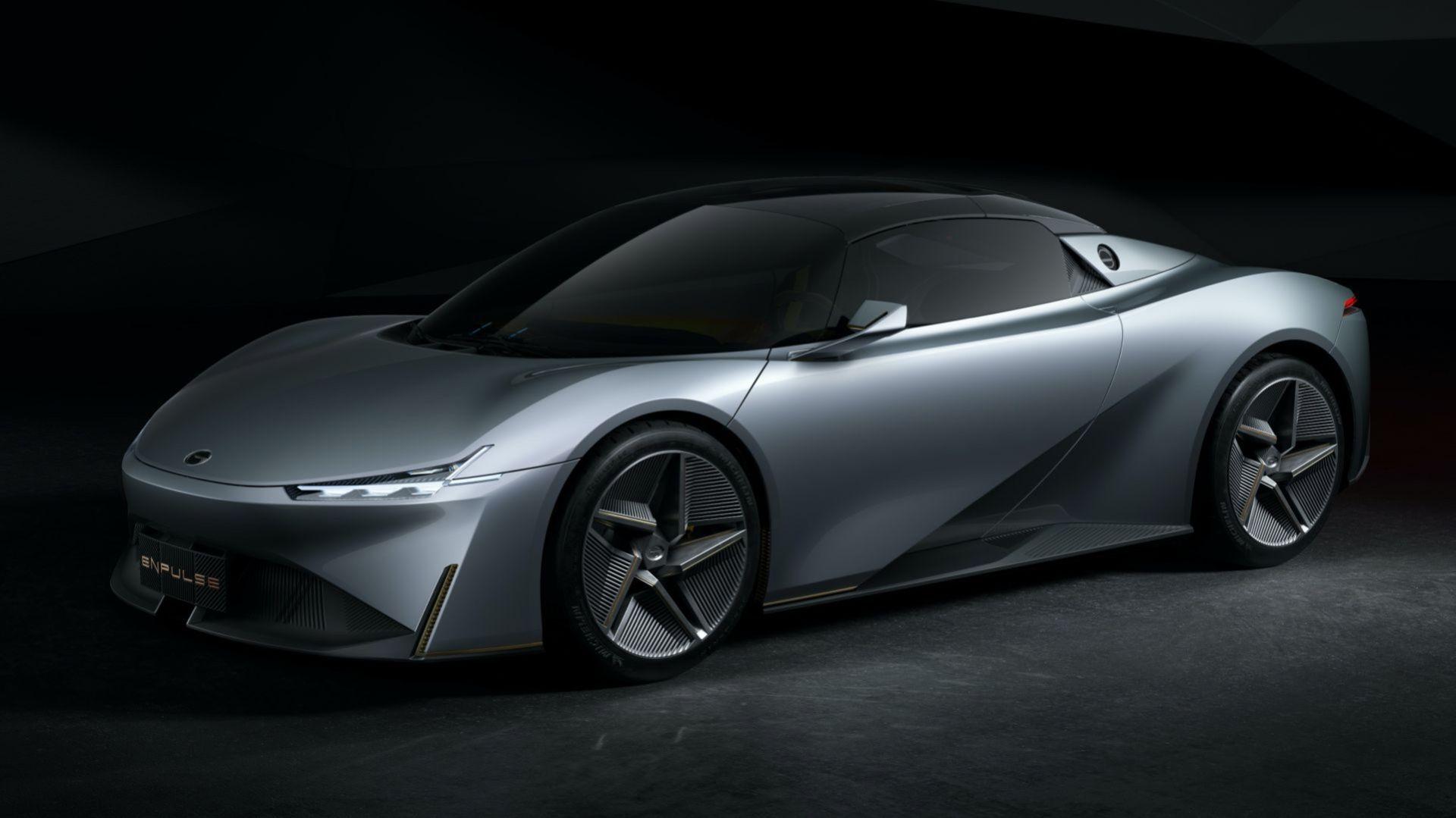 GAC visar eldrivna sportbilen Enpulse