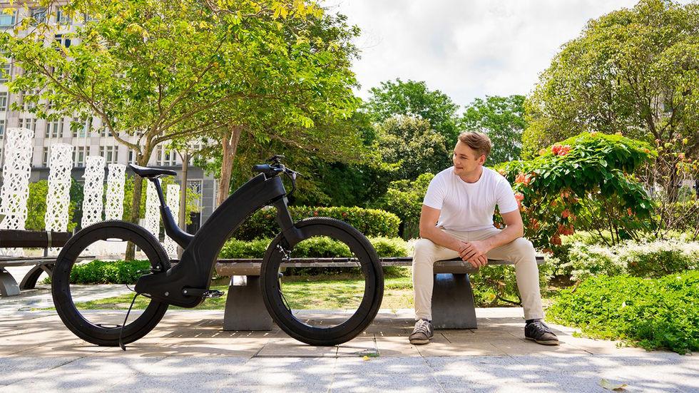 Reevo - elcykeln utan nav