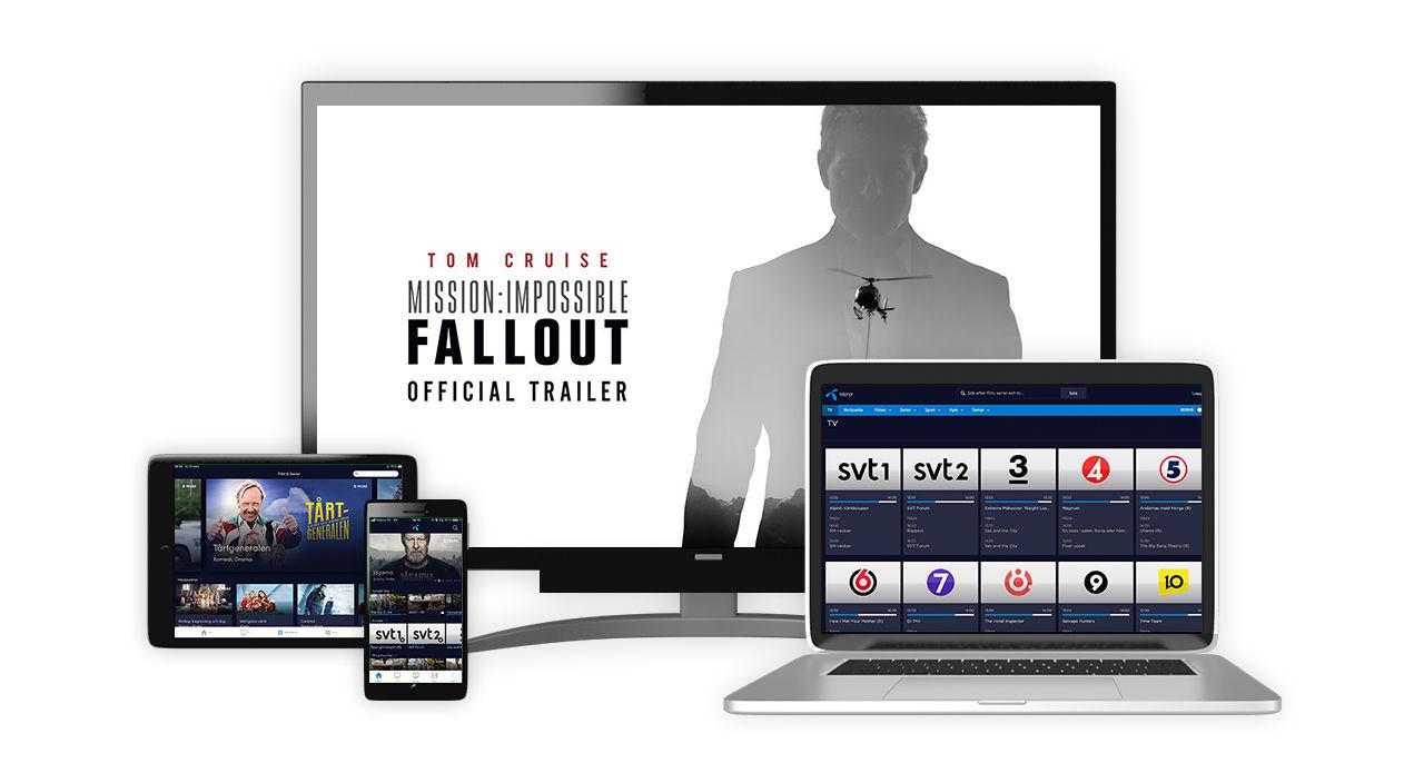 Nu får Telenors kunder tillgång till TV4-kanaler via streaming