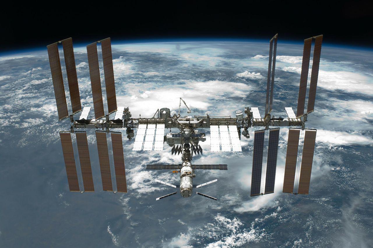 Liten läcka på ISS hittad