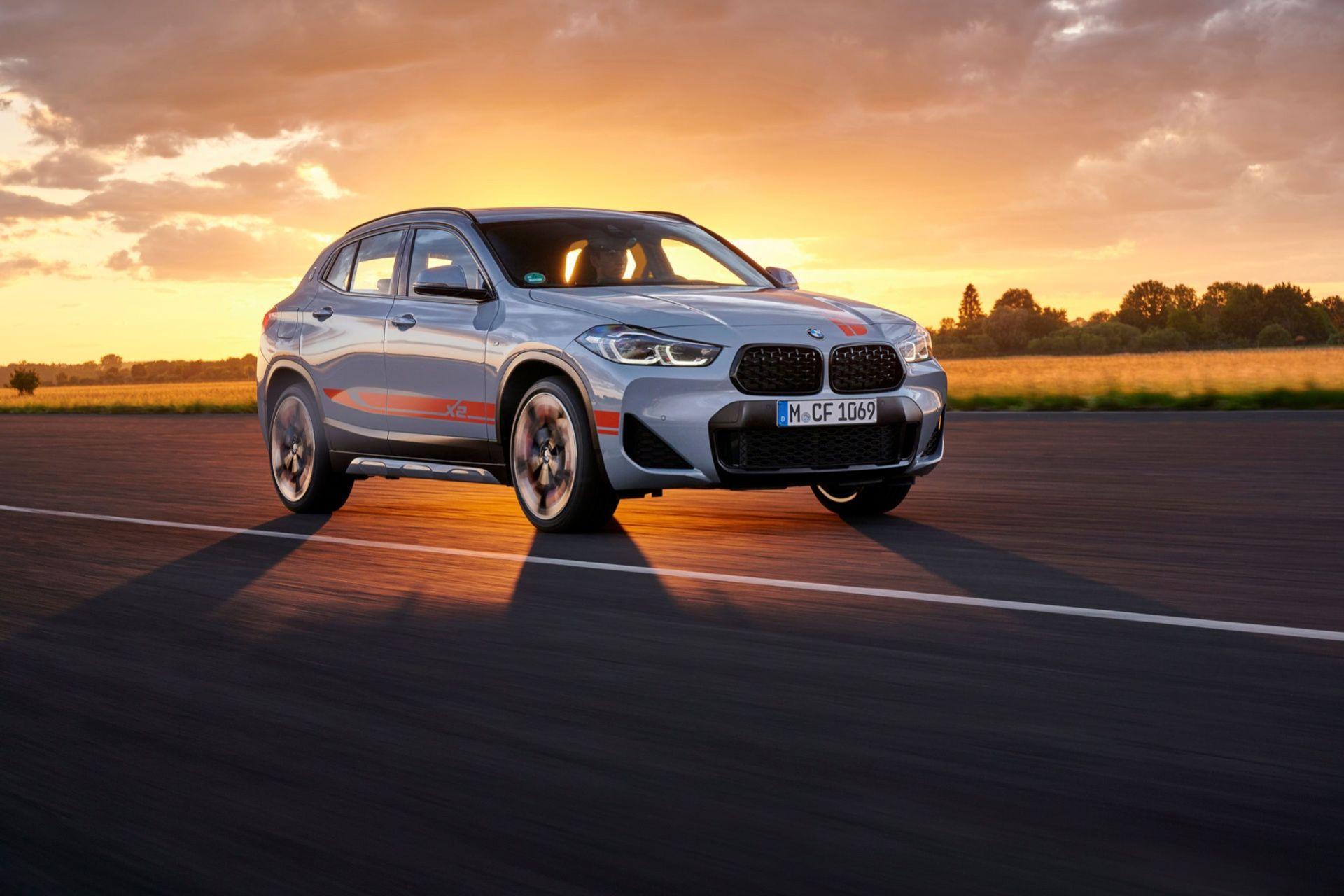 BMW presenterar X2 M Mesh Edition