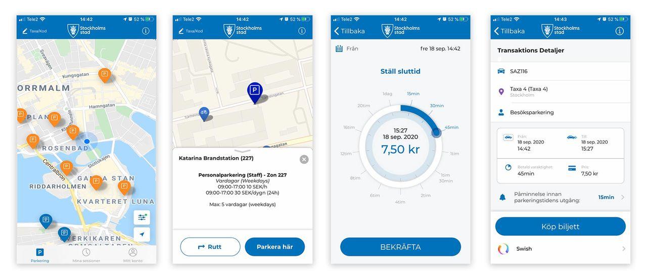 Betala P-appen har kommit i ny version