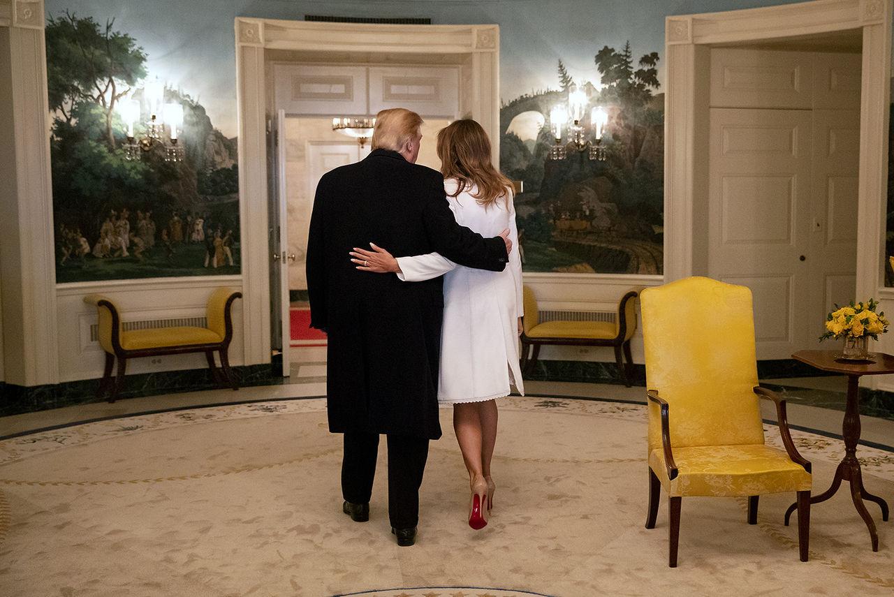 Donald och Melania Trump har fått Covid-19