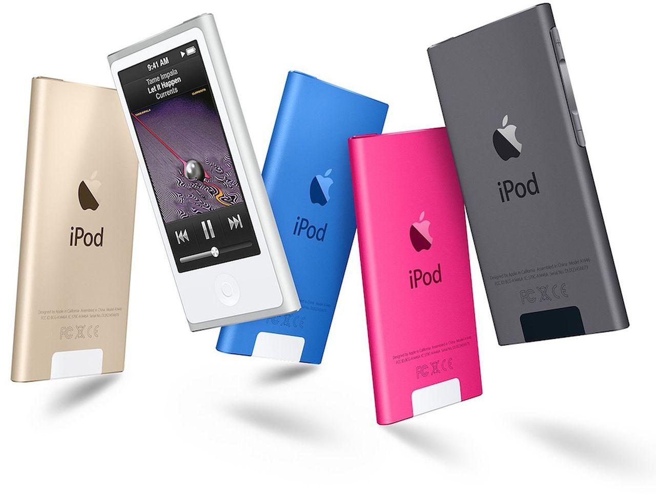 Nu räknar Apple den sista iPod Nano-modellen som vintage
