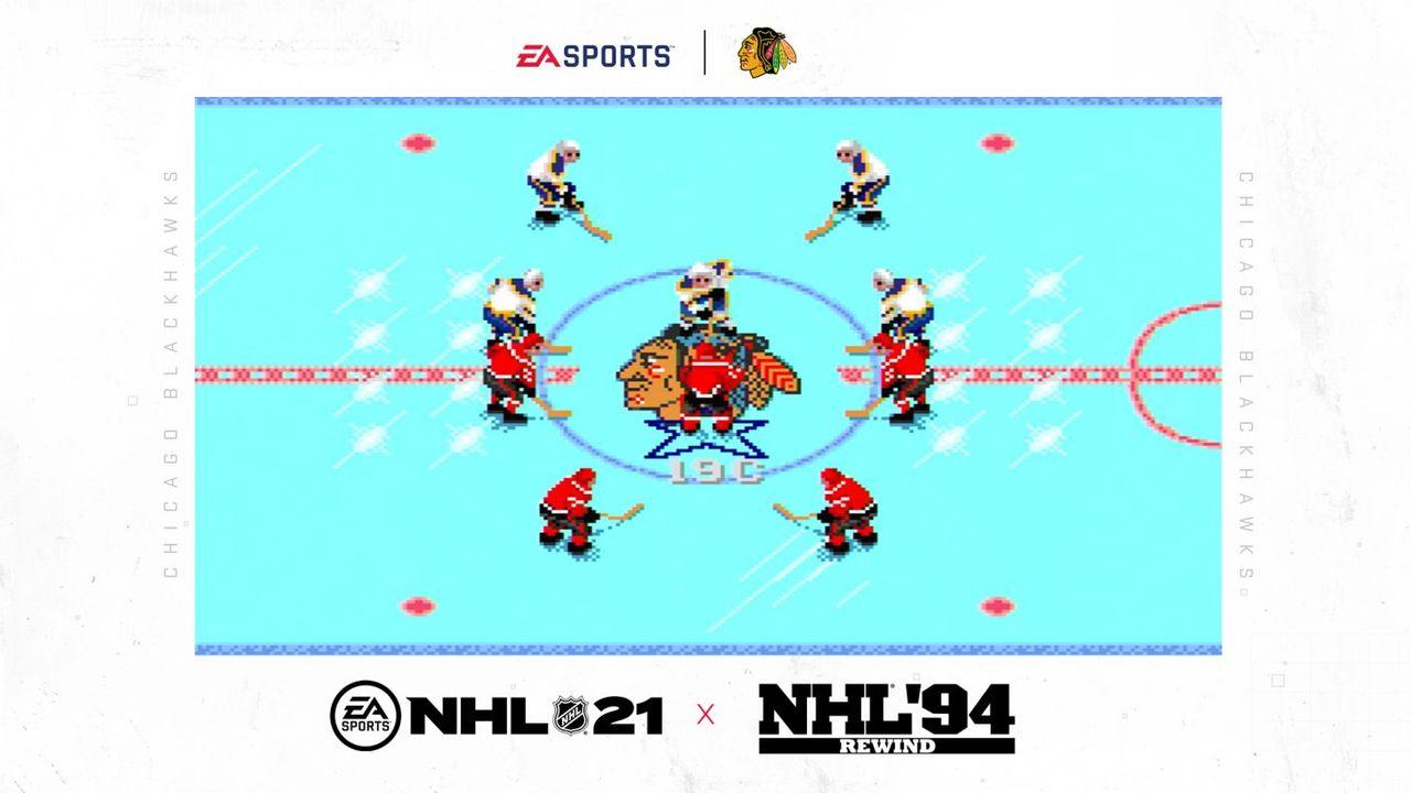 Förboka NHL 21, få NHL 94 Rewind