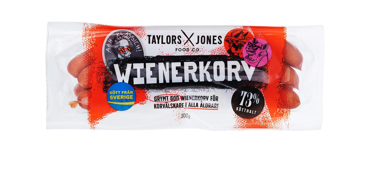 Taylors & Jones ändrar utseende
