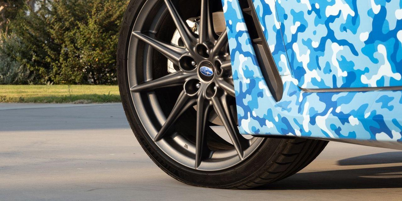 En första teaserbild på nästa Subaru BRZ