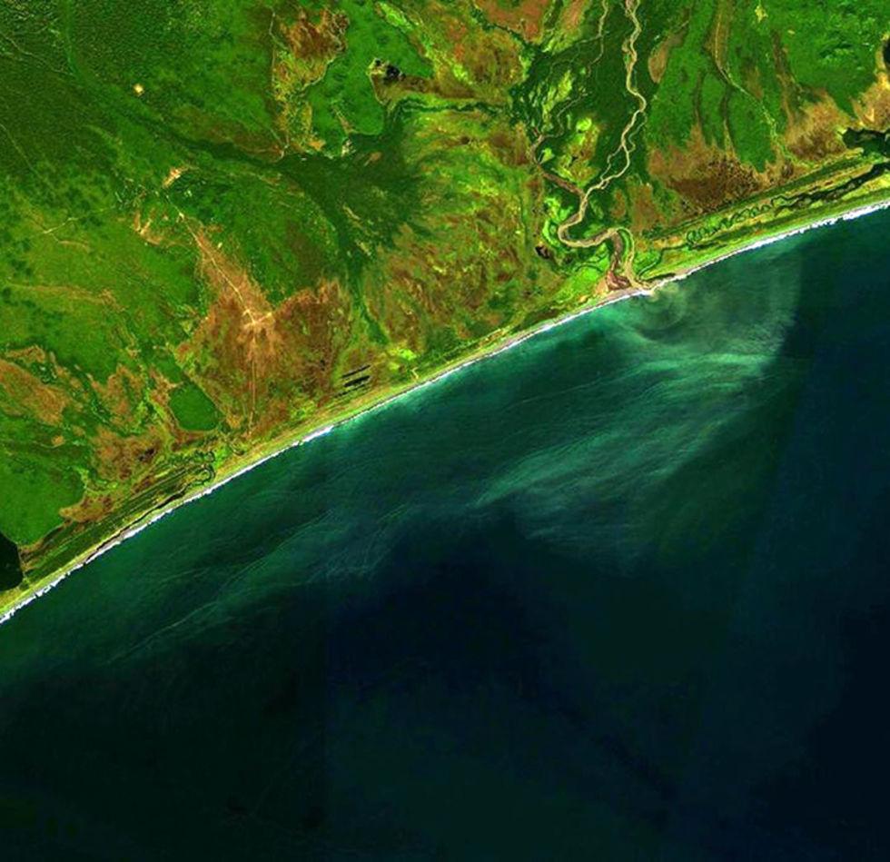 Utsläpp har lett till ekologisk katastrof på Kamtjatka-halvön