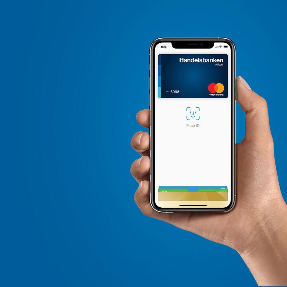 Nu släpps Apple Pay till Handelsbankens kunder
