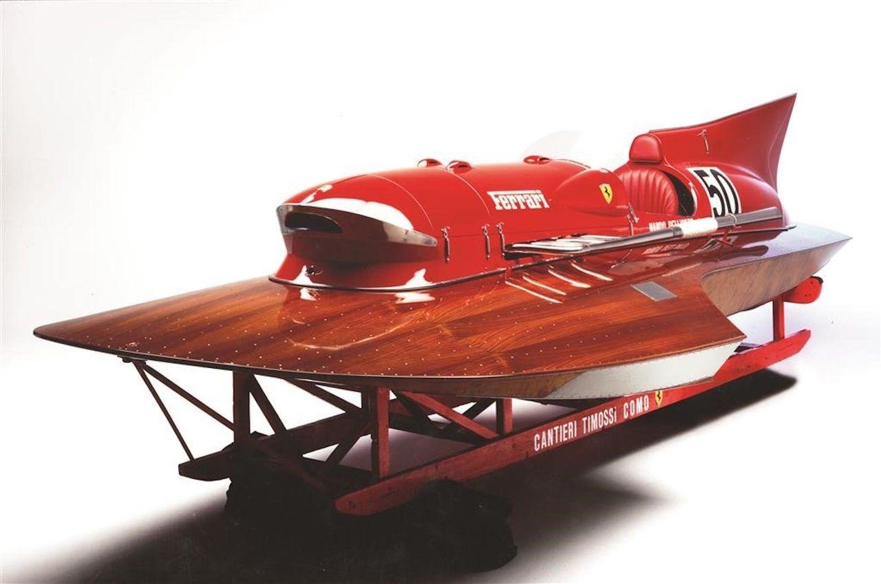 Ferrari-båt från 50-talet nu till salu
