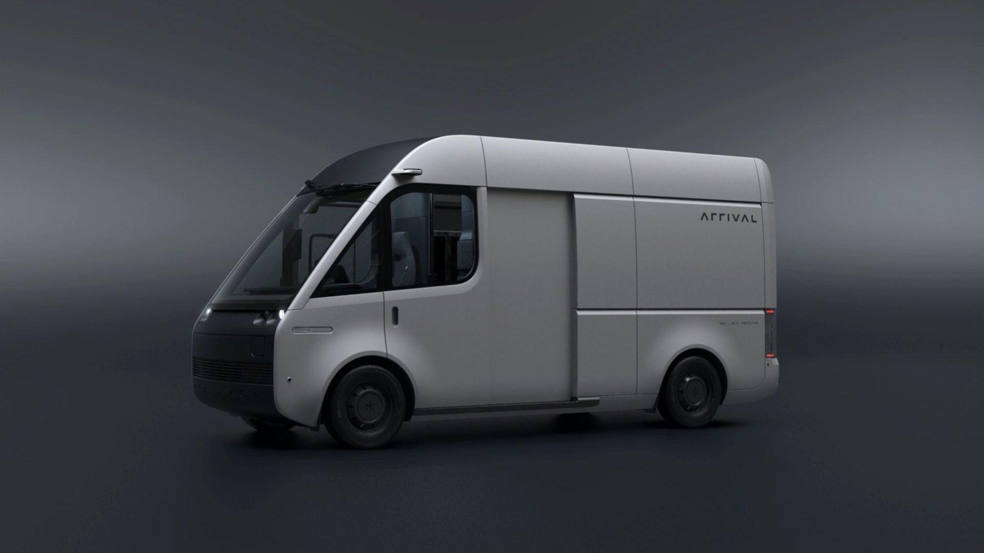 Arrival visar uppdaterad version av eldrivna transportbilen