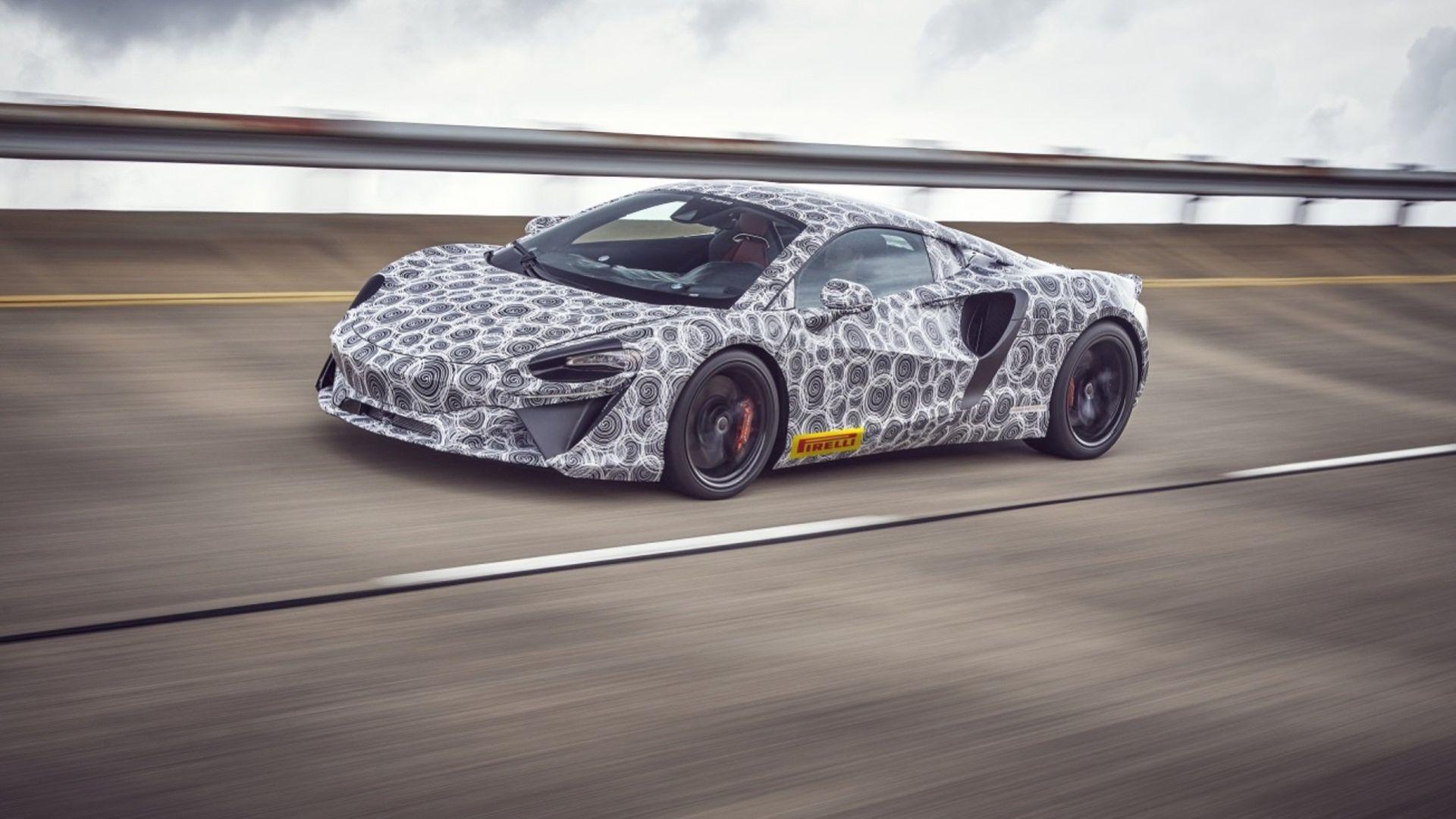 Nästa generation av McLarens hybrid kommer nästa år