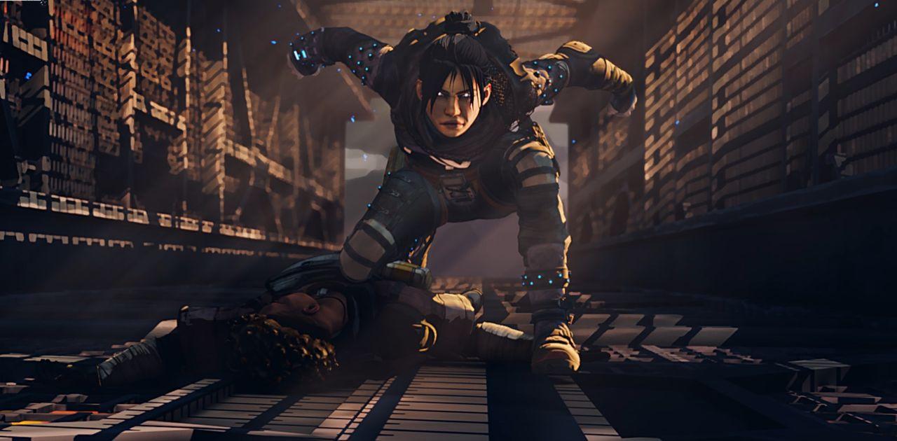 Wraith slutar ninjaspringa i Apex Legends