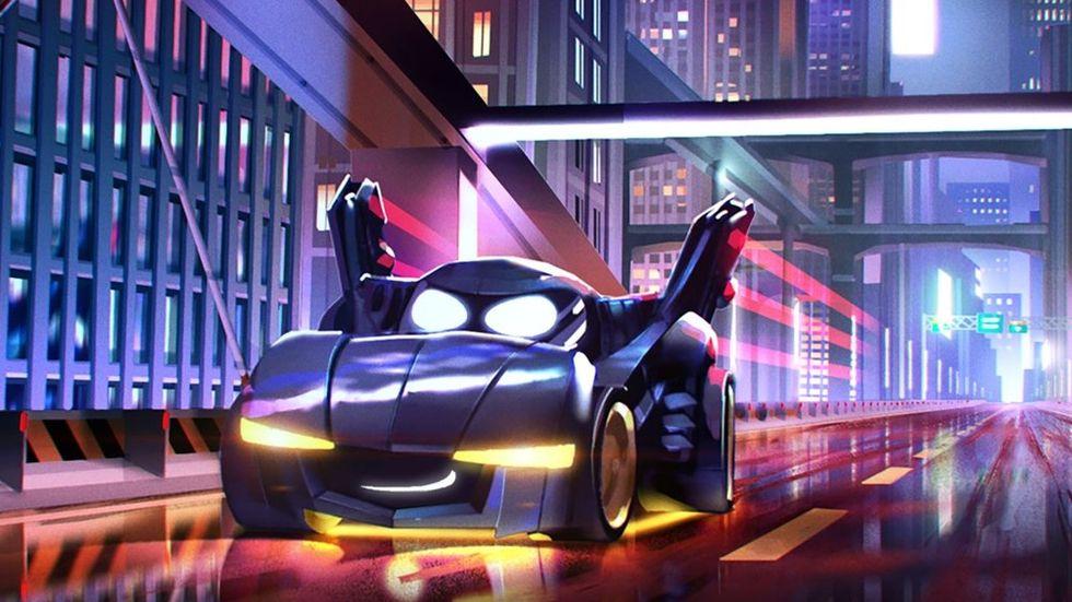Batmans fordon får liv i ny tv-serie