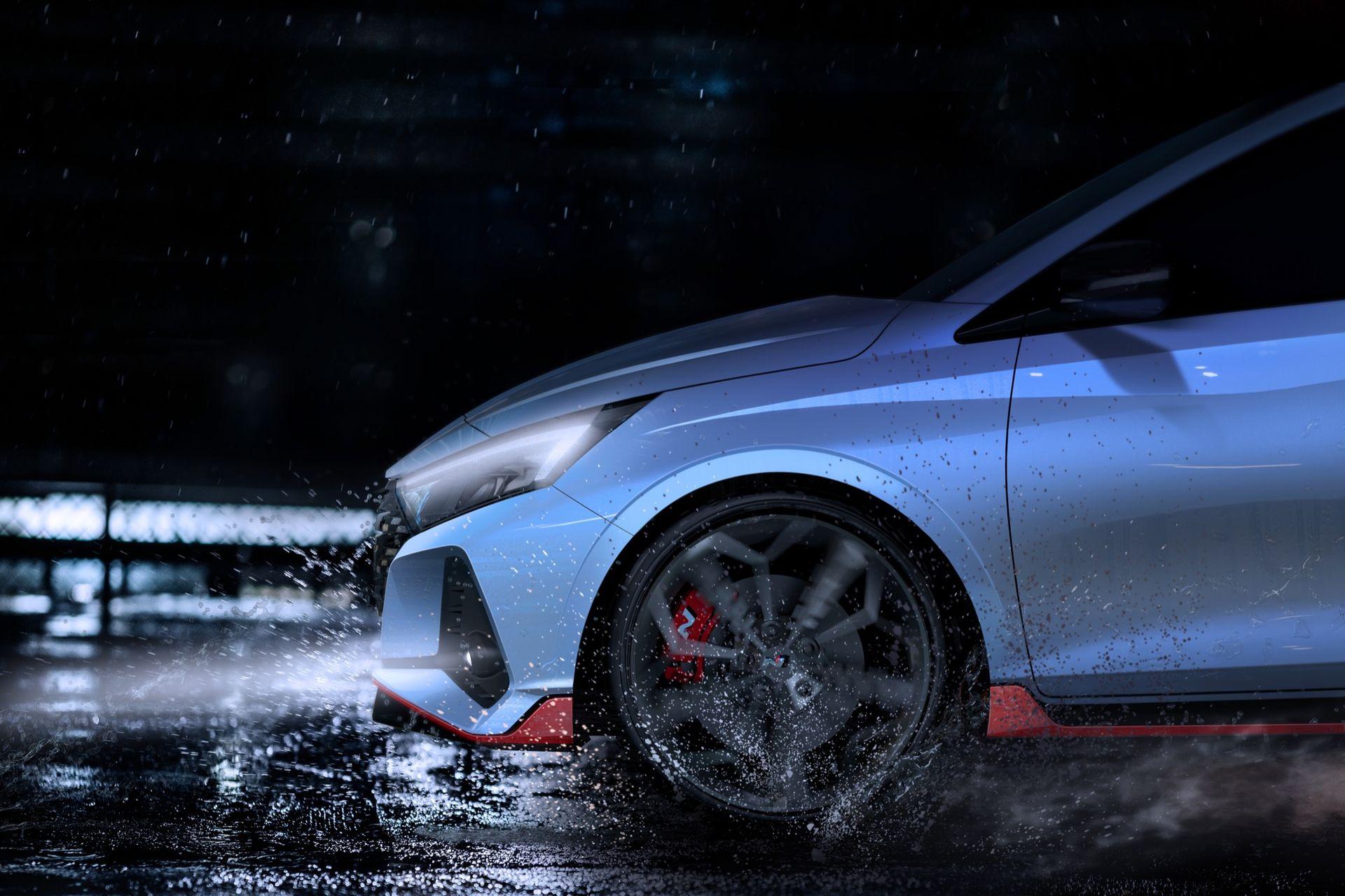 Nya teaserbilder på Hyundai i20 N