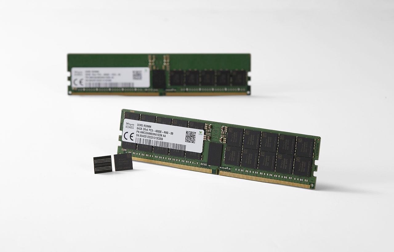 SK Hynix visar upp världens första DDR5 DRAM-modul