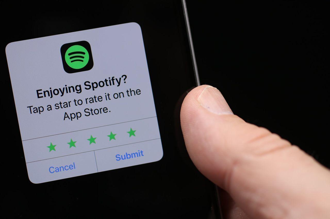 Spotify framröstat som Sverige populäraste arbetsgivare