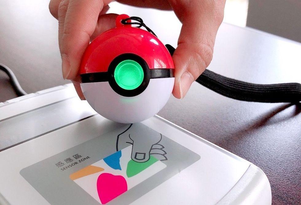 Nu kan man betala grejer i Taiwan med en pokéboll