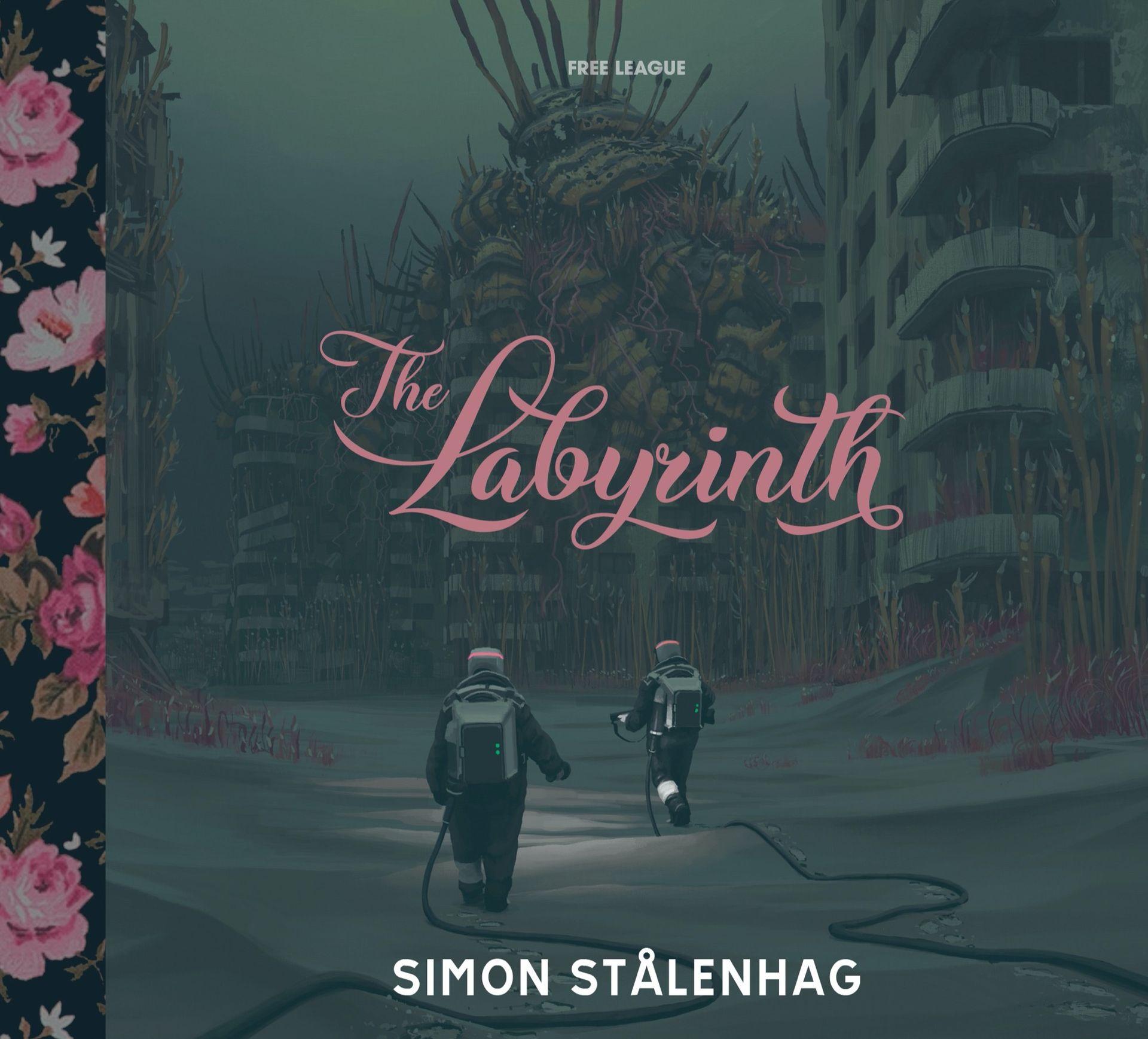 Simon Stålenhag crowdfundar nya boken The Labyrinth