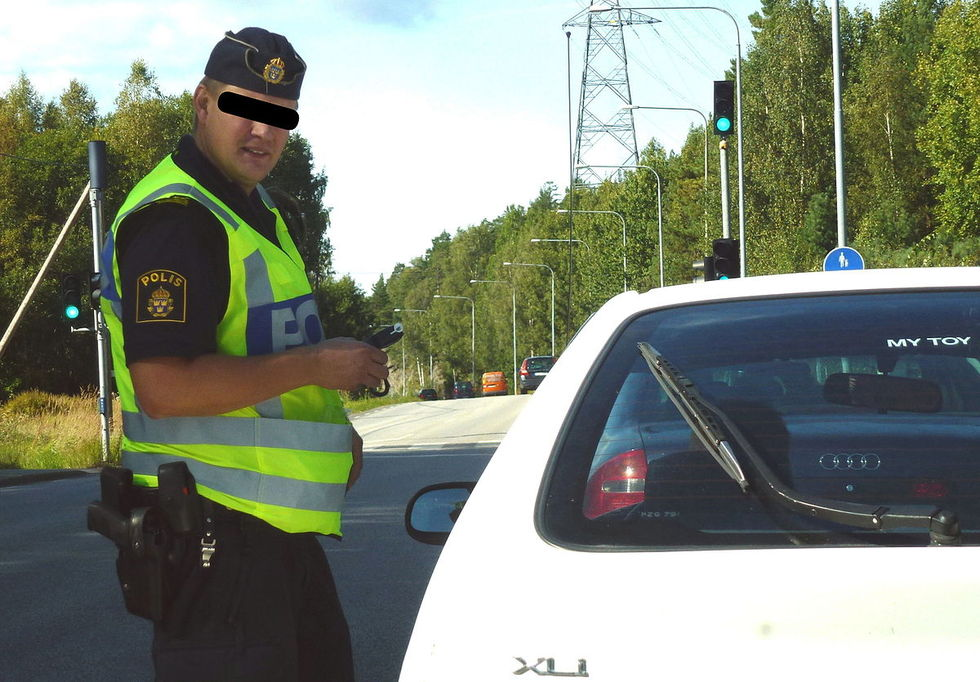 På måndag återinför polisen nykterhetskontroller