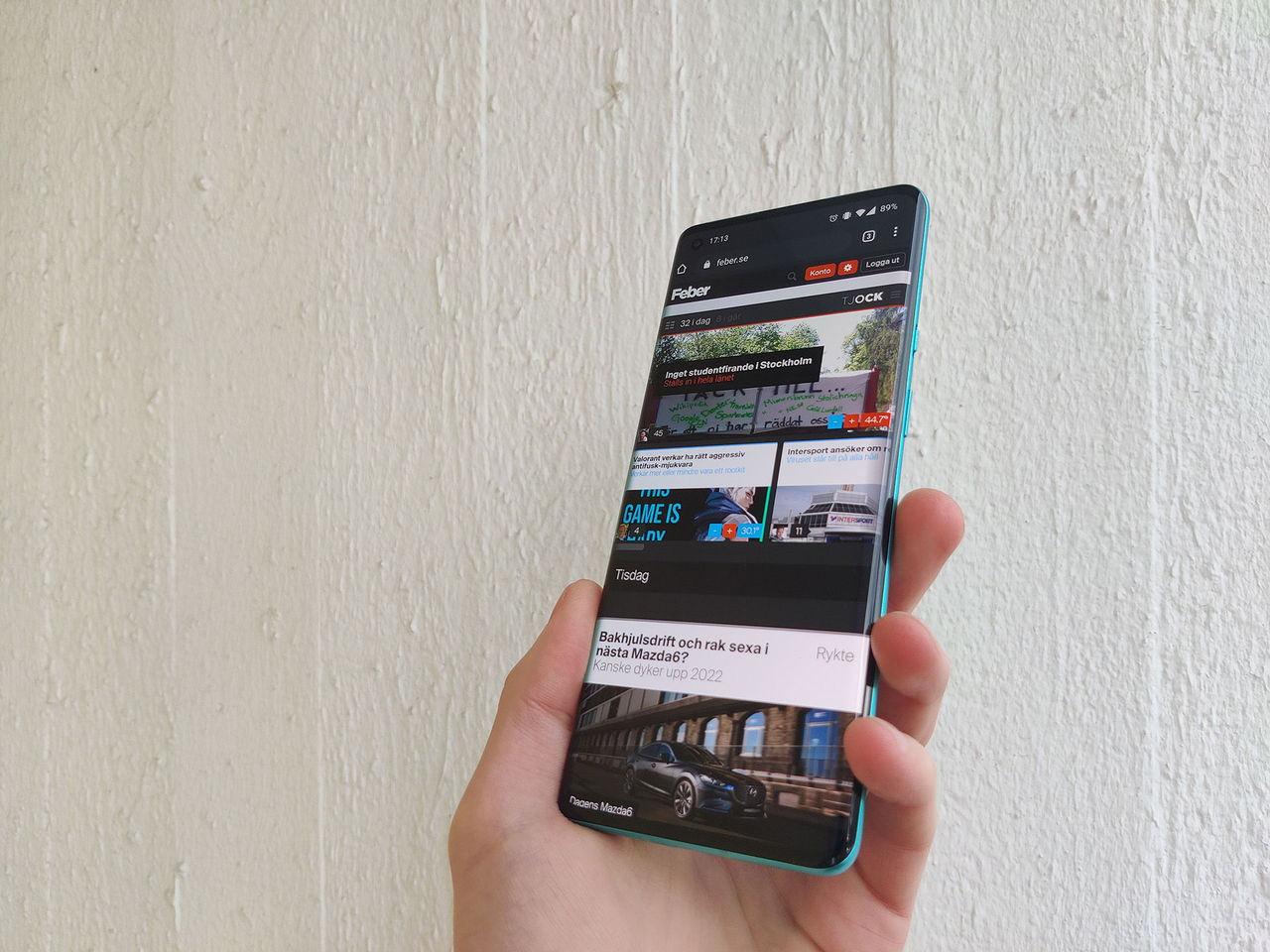 OxygenOS 11 börjar rulla ut till OnePlus 8-serien