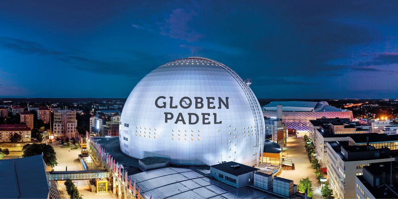 Globen byggs om till padelhall