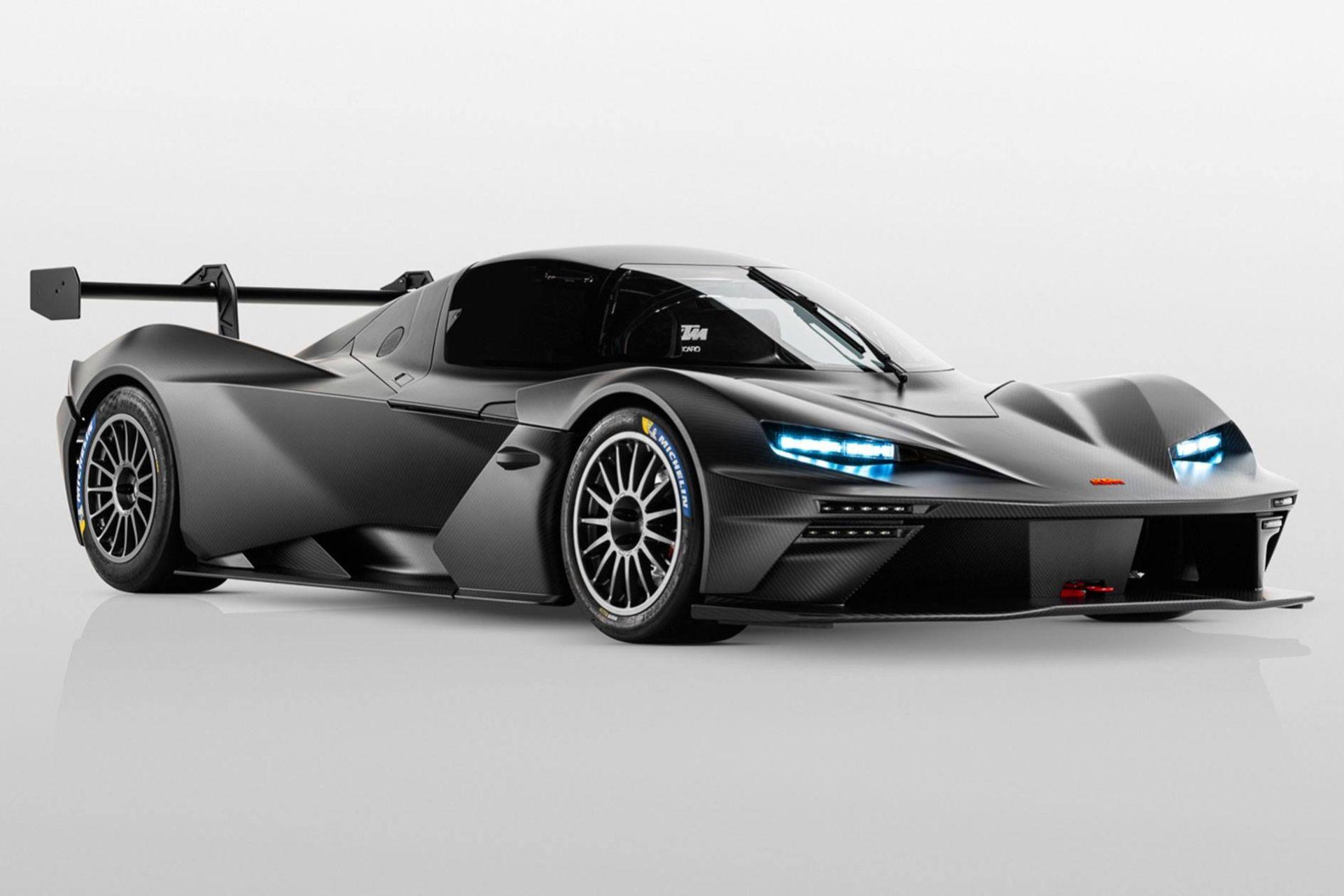 Nu är den här - banracern KTM X-Bow GTX