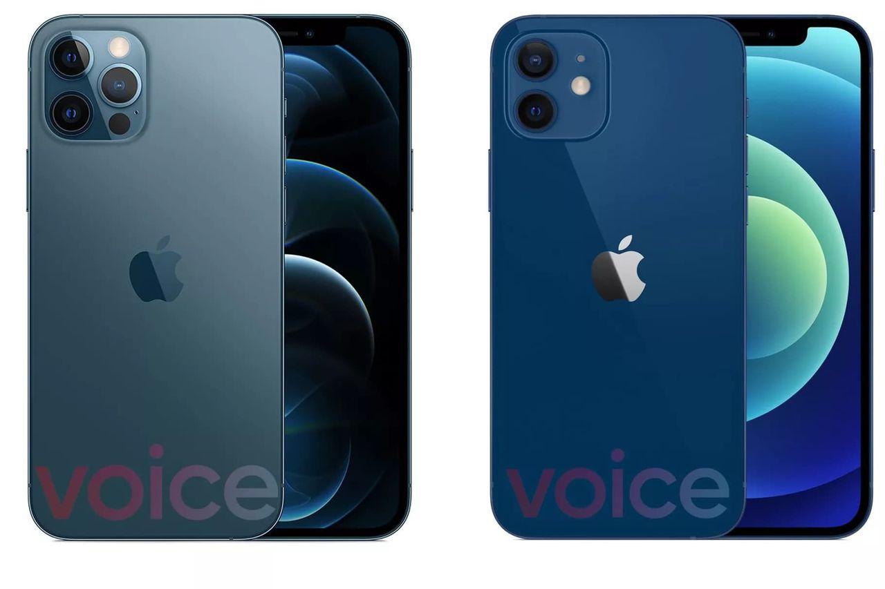 iPhone 12 läcker ut