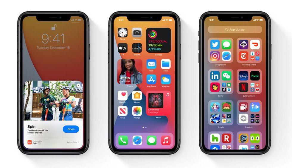 Apple släpper iOS 14.1 och iPadOS 14.1